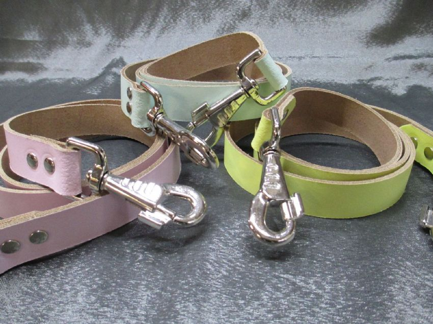 Leather Double Ended quick release Walking Strap, harness strap, abdl